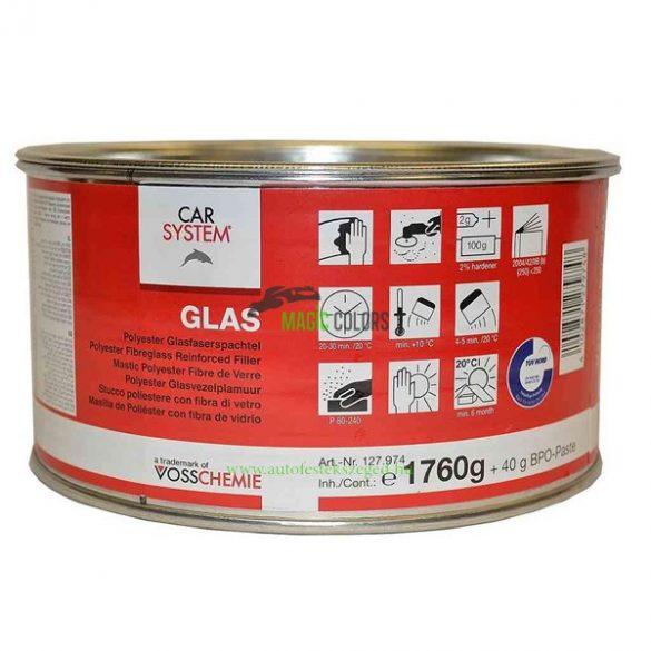 CarSystem Glas - Üvegszálas gitt (1,8Kg)