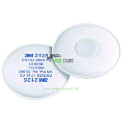 3M™ 2125 P2 Szűrőbetét, Részecskeszűrő (1Pár)