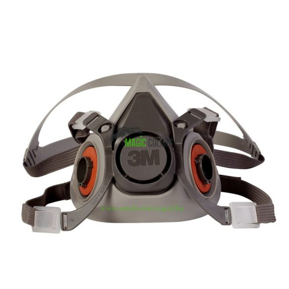 3M™ 6200 Ikerszűrős Félálarc, Fényezőmaszk (M)