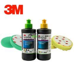 3M™ Polírszett - polírpaszta + Polírszivacs csomag (Kicsi - Gyári csomagolás)