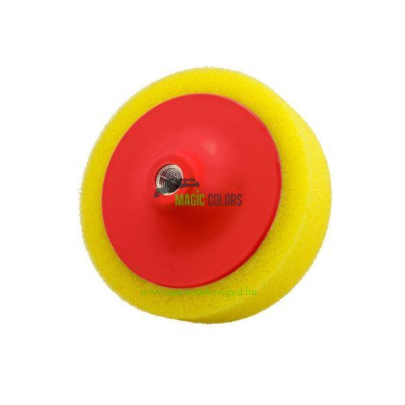 """FlexiPads® 6 x 2"""" Sárga Polírszivacs M14 (150 x 50mm)"""