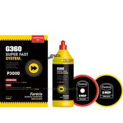 Farecla G360 Super Fast polír kiscsomag