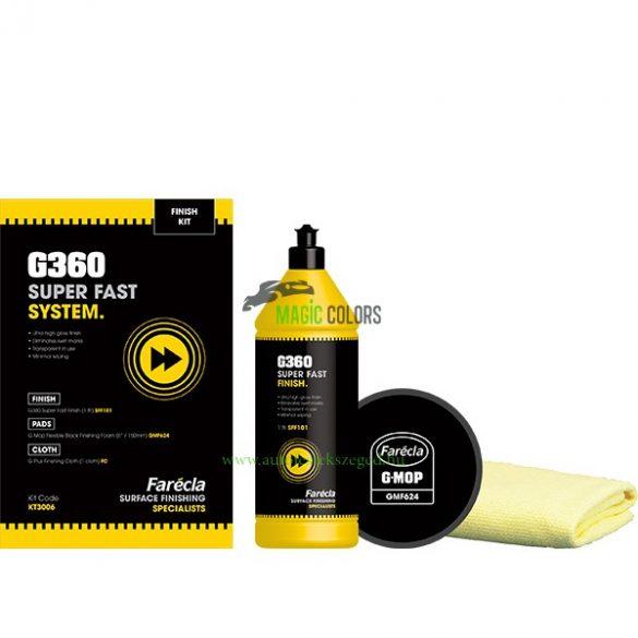 Farecla G360 polírrendszer nagycsomag