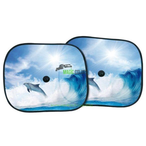 BOTTARI Napvédő tapadókorongos - Delfin (oldalra)