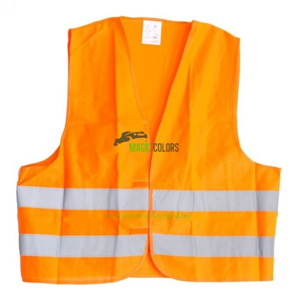 Fényvisszaverő mellény (narancssárga)