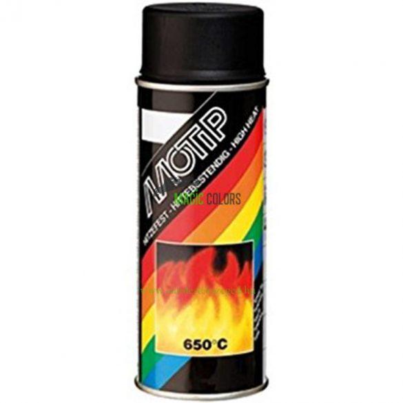 MOTIP Hőálló festék spray - fekete 650°C