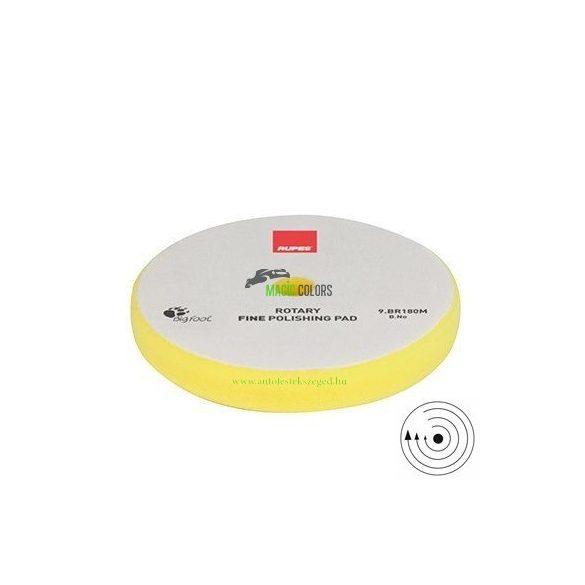 Rupes Finom Polírszivacs - Hagyományos gépekhez - Sárga (130/135mm)