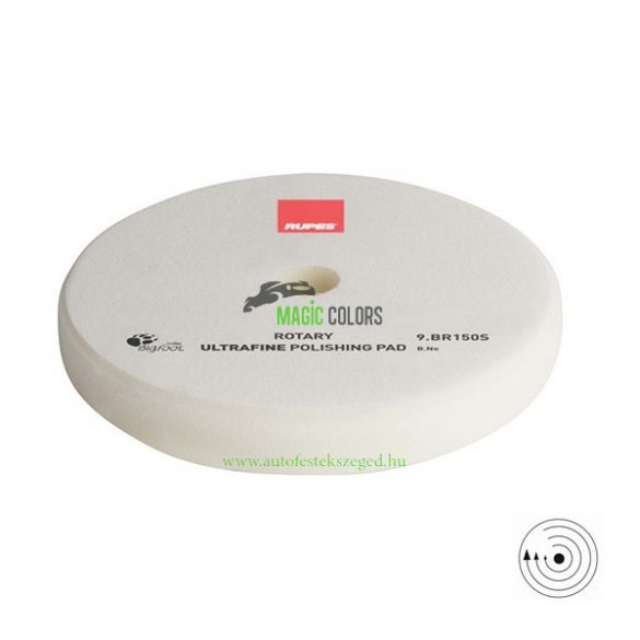 Rupes Ultrafinom Polírszivacs - Hagyományos gépekhez - Fehér (130/135mm)