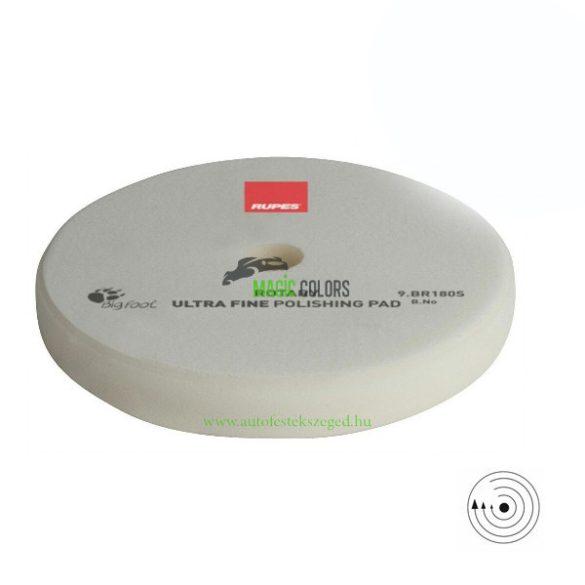 Rupes Ultrafinom Polírszivacs - Hagyományos gépekhez - Fehér (155/160mm)