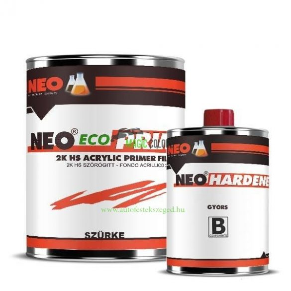 NEO ECO 2K HS Filler szett - Fekete  (0,9L)