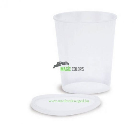 Corcos Műanyag Keverőedény Tetővel (0,2l)
