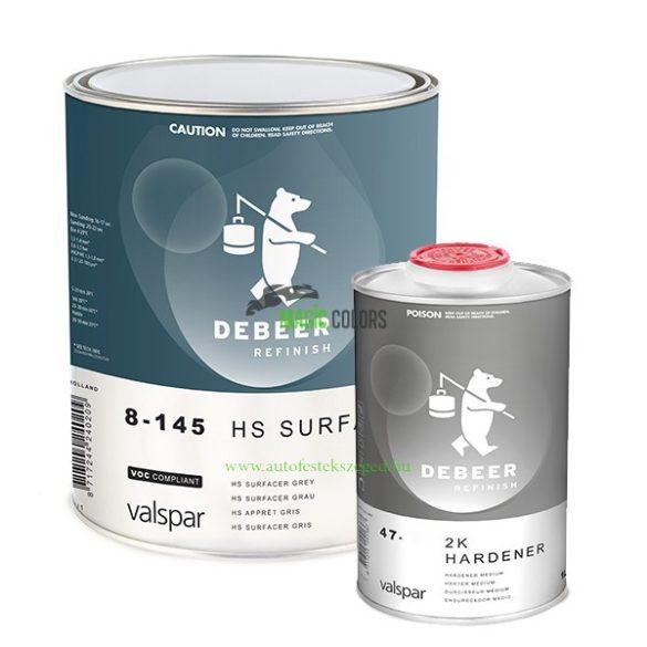 DeBeer 8-14510 2K HS Filler Szett - Fehér (4l)