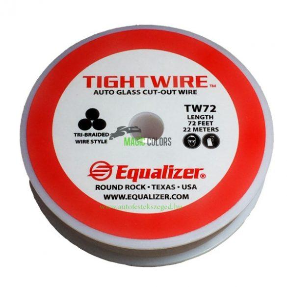 EQ sodrott szélvédő kivágó drót (22m)