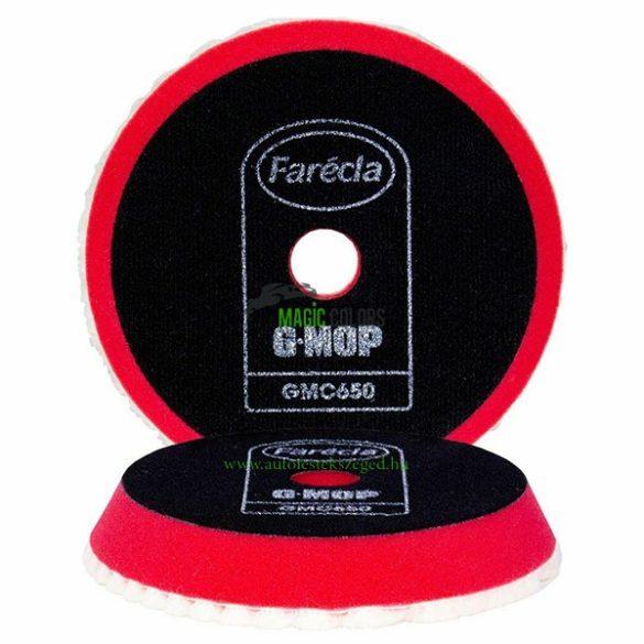 """Farecla 6 """"Piros G Mop Super High Cut polírszivacs 150mm"""