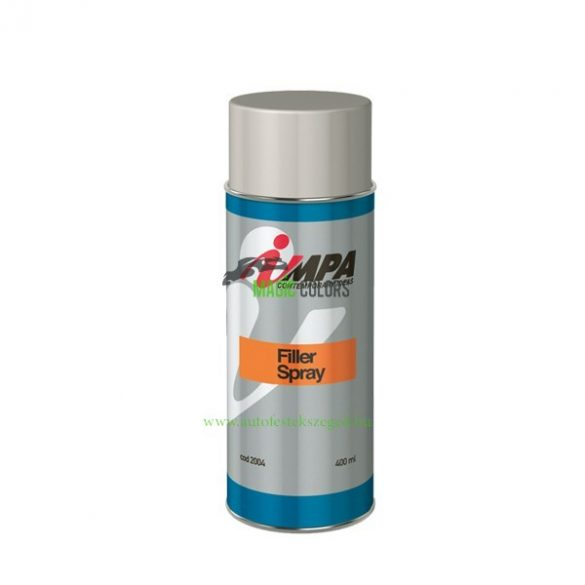 1K Szigetelő Töltőalapozó Spray - világos szürke (400ml)