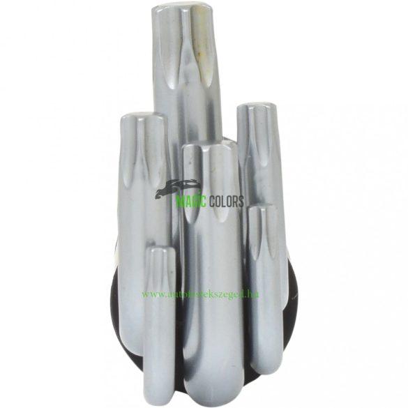3 az 1-ben Torx-gömbfejű hajlított csavarhúzó készlet, hosszú, 8 db-os