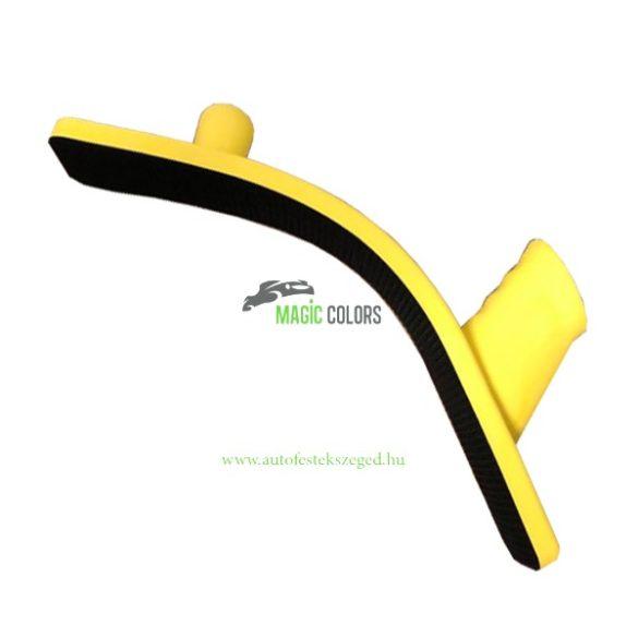 Kézi gyalu 440x70 flexibilis sárga tépőzáras