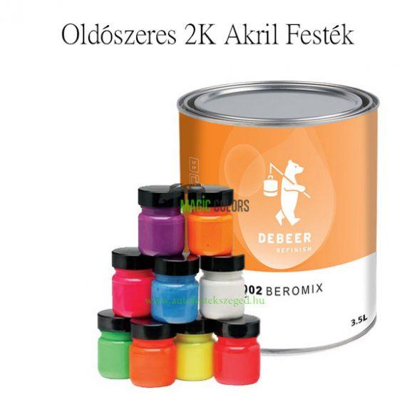 2K Akril - Oldószeres Kevert Festék - (1dl-től)