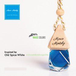 inspired by Old Spice White – férfi autóillatosító parfüm