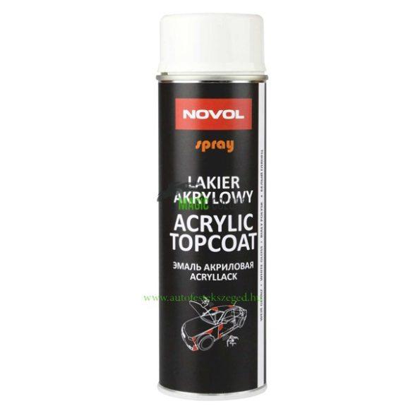 Novol Akril fehér spray - Fényes (500ml)