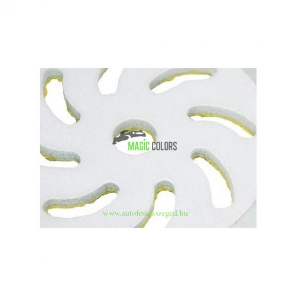 Rupes Sárga Mikroszálas Polír pad - Finom (100mm)