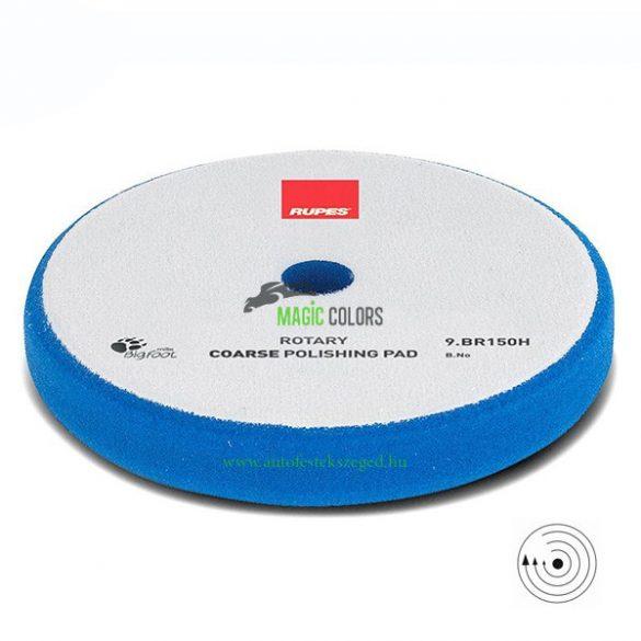 Rupes Durva Polírszivacs - Hagyományos gépekhez - Kék (130/135mmmm)