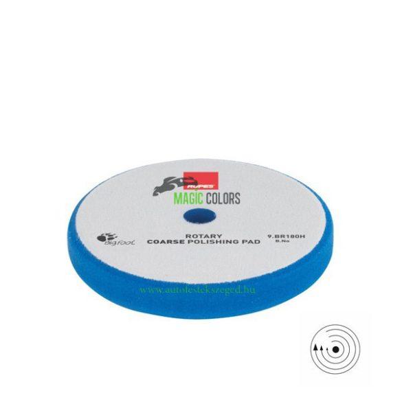 Rupes durva polírszivacs - Hagyományos gépekhez - Kék (155/160mm)