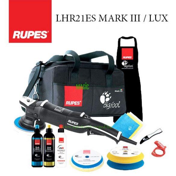 Rupes LHR 21 Mark III Polírozógép LUX szett