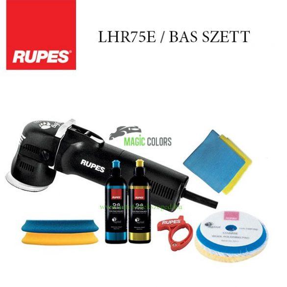 Rupes BigFoot LHR 75E Mini Polírozógép BAS Szett