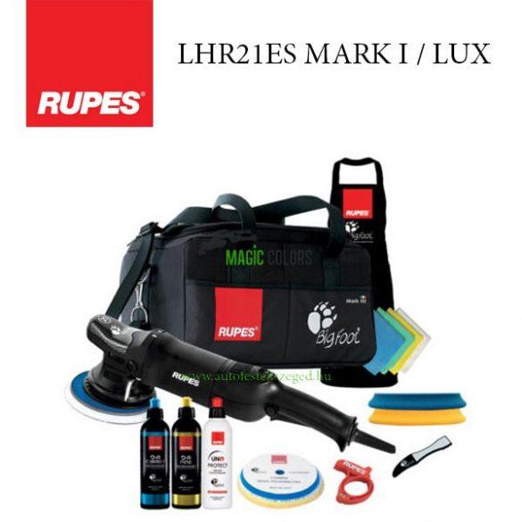 RUPES LHR 21ES / LUX Polírozógép csomag