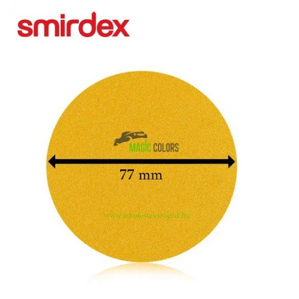Smirdex 77mm lyuknélküli körpapír (P180)
