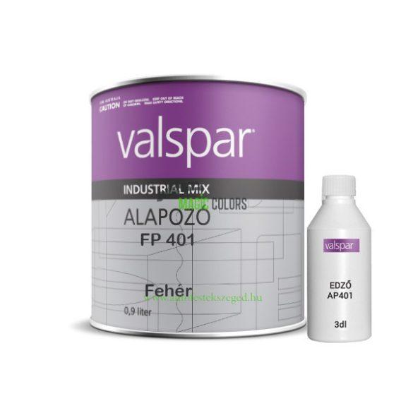 2K Epoxy Alapozó FP401 DTM Fehér Valspar Industrial Mix rendszerhez (1,6L - 1,8L)
