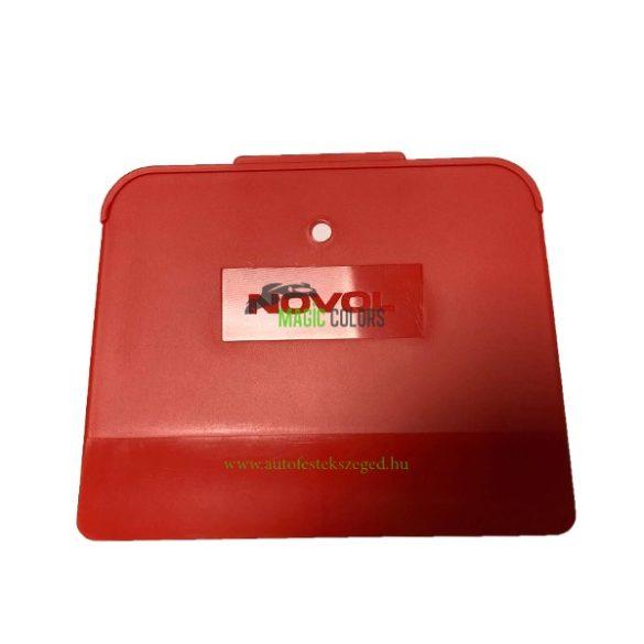 Novol gittelőlap - piros (9x12cm)