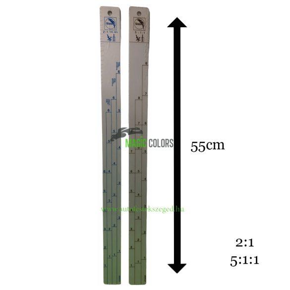 Glasurit Alu keverőpálca 55cm (2:1/5:1:1)